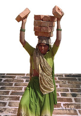 Women Lifting Bricks, India (2004) | by everlutionary