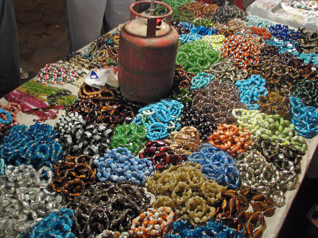 Bracelets in Connaught Place Market