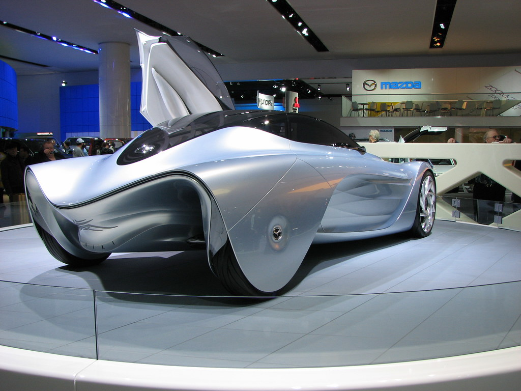 Mazda Taiki | Taken at the 2008 Detroit Auto Show | Kevin ...