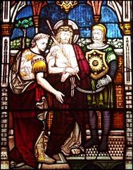 Christ arraigned before Pilate