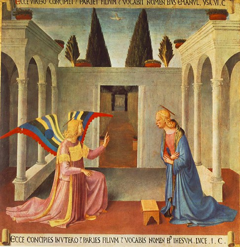 ANGELICO, Fra Annunciation, c1450   by carulmare