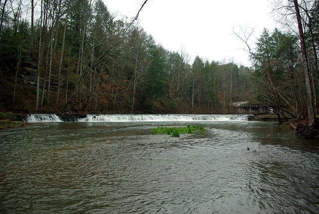 Upper Waterloo Falls, Spring Creek, Overton County, Tennessee 1