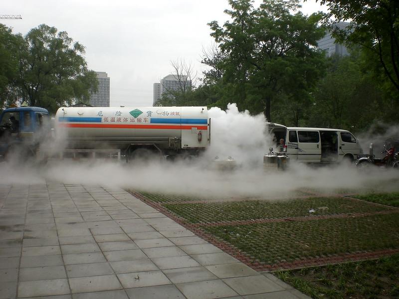 freezing lorry