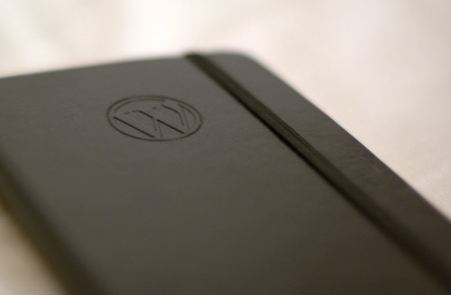 WordPress Moleskine notebook | by Nikolay Bachiyski