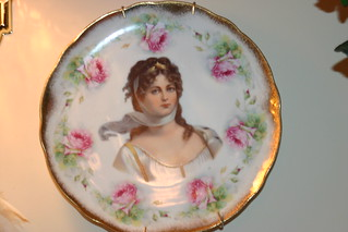 Vintage Plate | by Sherry's Rose Cottage