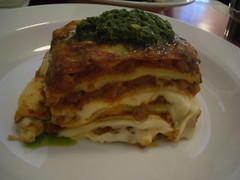 Lasagne with pesto | by mutemonkey