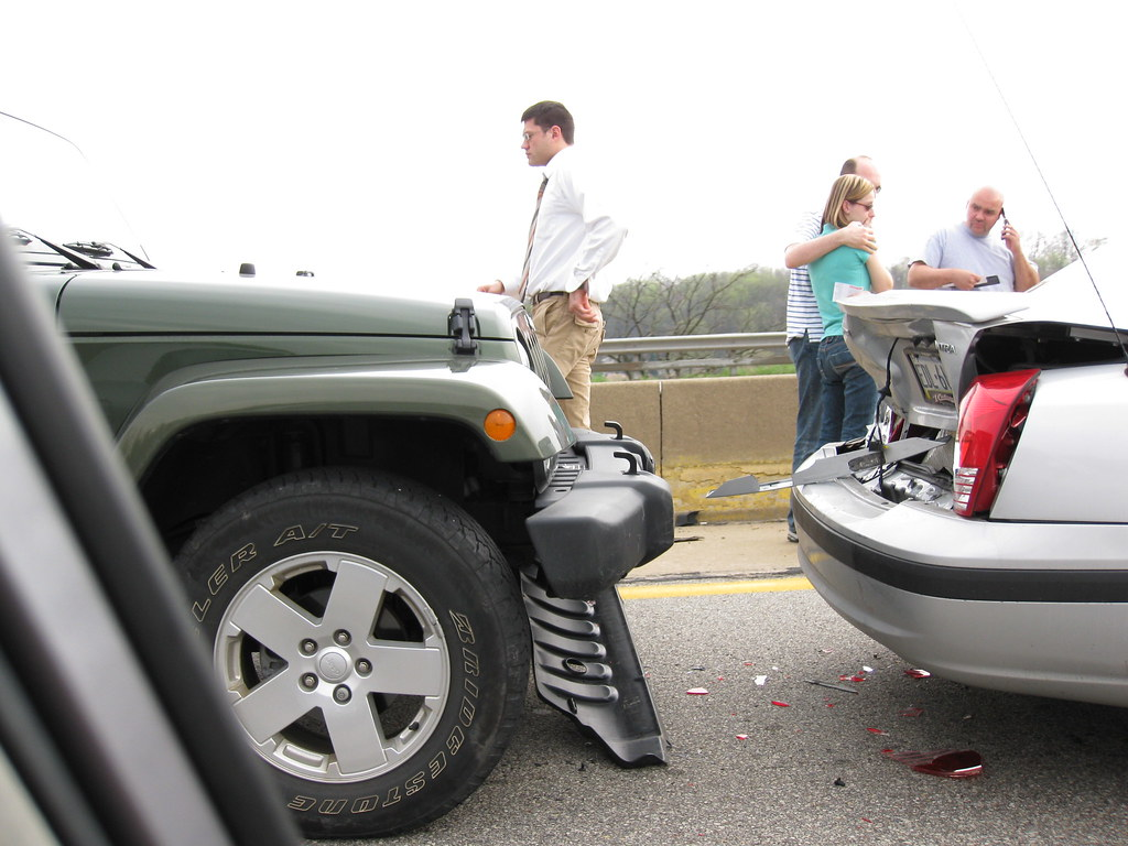 Car accident | on I376 between Wilkins Township and Penn Hil… | Flickr