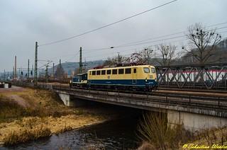 140 423-5 mit 333 068-5 durch Eisenach am 08.02.2017   by Photography Sebastian Winter