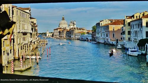 Itália – Veneza – A Basílica de Santa Maria della Salute é uma referência incontornável desta magnífica cidade.