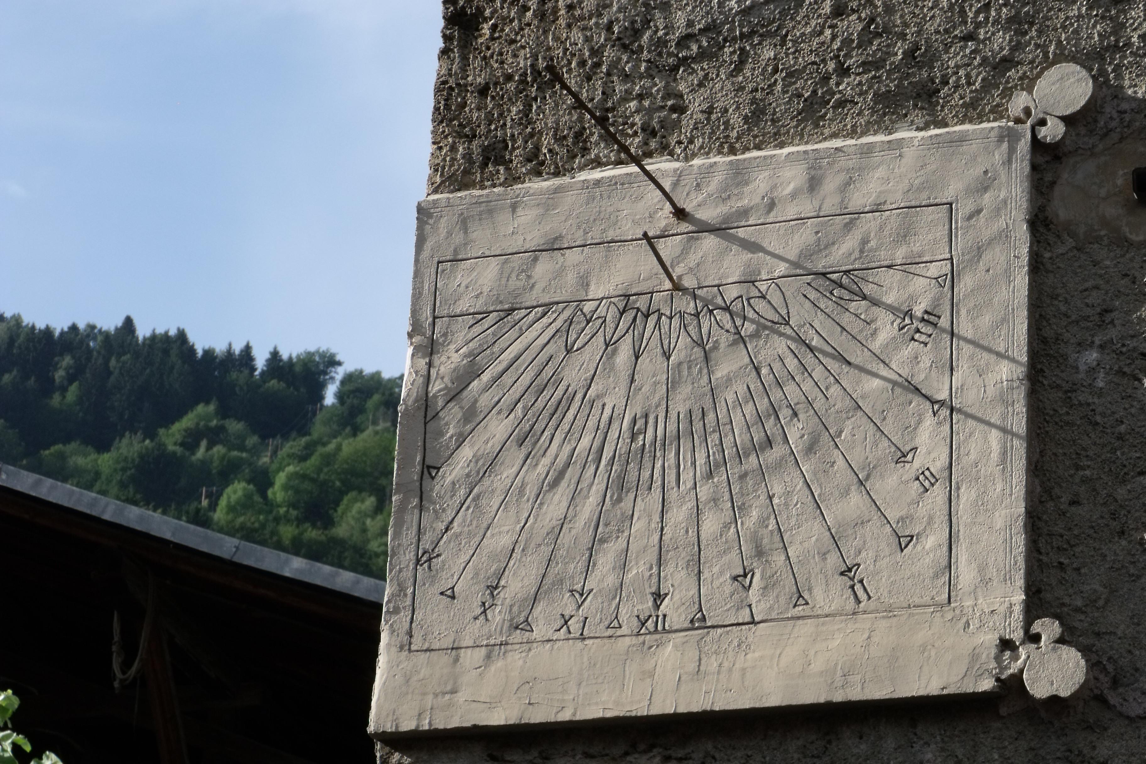 Villard-sur-Doron, cadran solaire - © D.Dereani, Fondation Facim