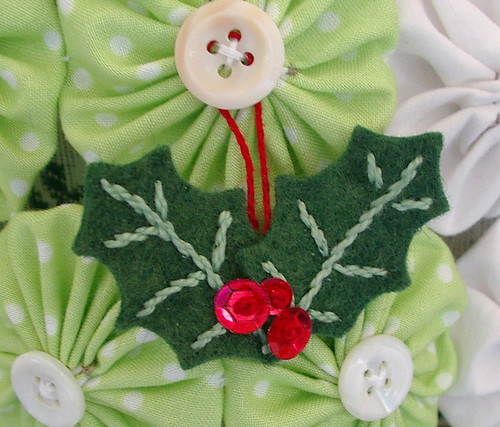 holly berry ornament / win one of each ornament find out how on my blog | by sunshine's creations