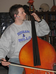 Me playing string bass