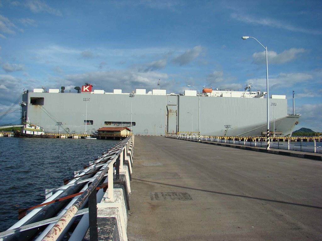 KLine Vessel, San Lorenzo Honduras | barco Shenandoah Highwa