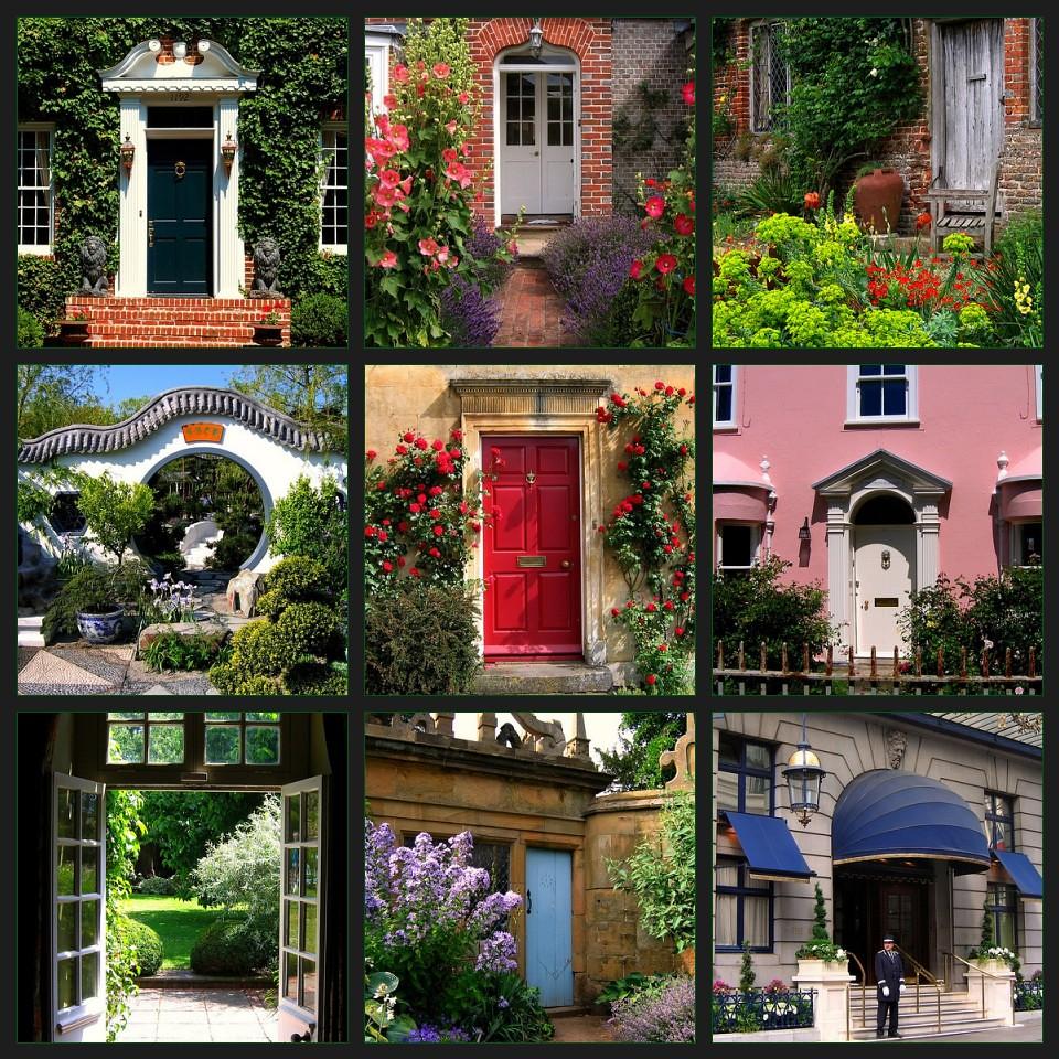 A Mosaic of Doors | 1. Front Door in Atlanta's Druid Hills ...