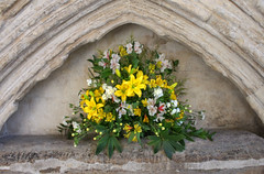 Chichester Cathedral Easter Flowers | by Hexagoneye Photography