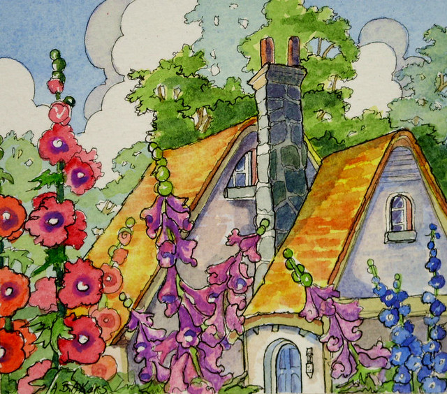 Storybook Cottage Series Top of the Morning