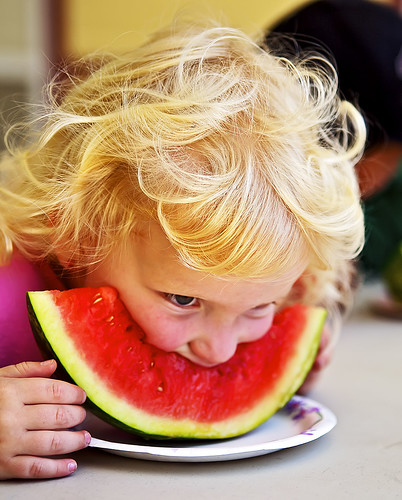 A Child-Eating Watermelon | by Bill Adams