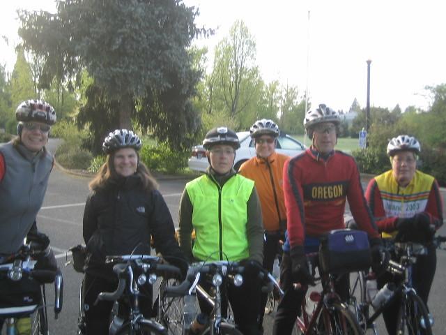 Pre-ride team shot