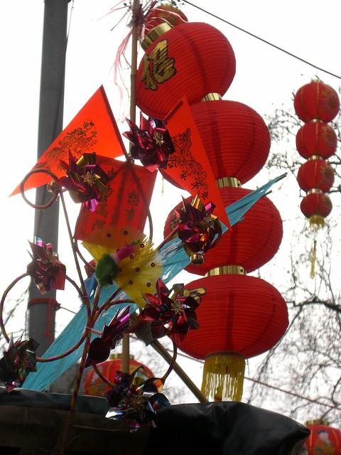 Kites and lanterns