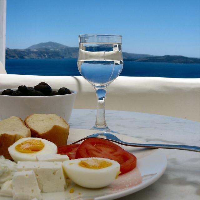 Mediterranean meal time