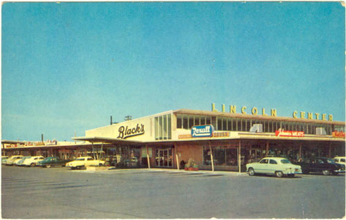 c0fe19eb85c Gaines Market-Lincoln Center STOCKTON CA | This is a postcar… | Flickr