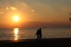 Couple on Bostanci Beach | by Cengiz C.