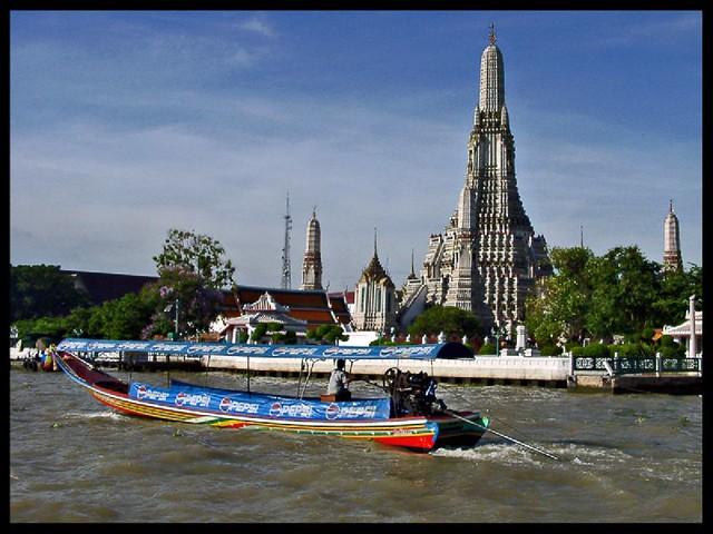 Bangkok: la Chao Phraya & the Wat Arun