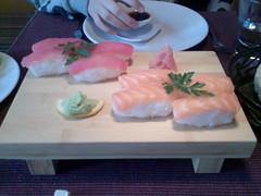Sushi del Restaurante Tsi Tao (Donosti)
