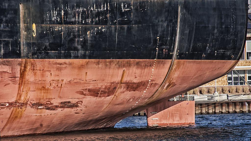 Ship's Hull and Rudder