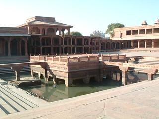 Anup Talao at Fatehpur Sikri