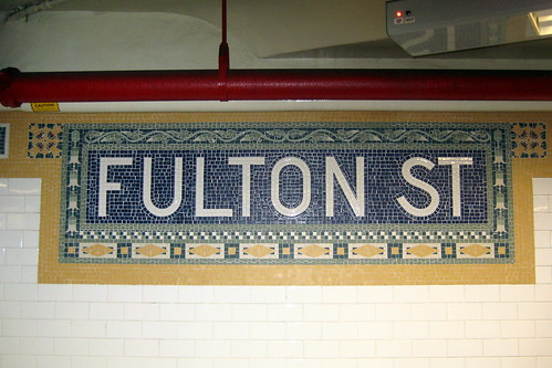 NYC: Fulton Street Subway Station | by wallyg