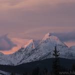 Numa Ridge Alpenglow