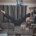 Feb 17 - Straddle Handstand