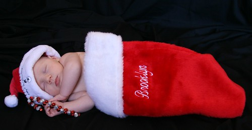 christmas stocking baby | by LAURA HAYES PHOTOGRAPHY