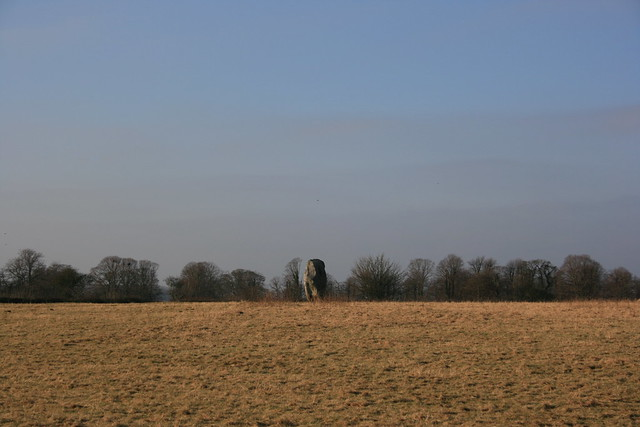 Loan stone, looking north