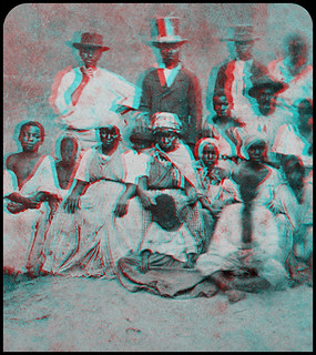 African Americans (anaglyph) | by Wolfgang Wiggers