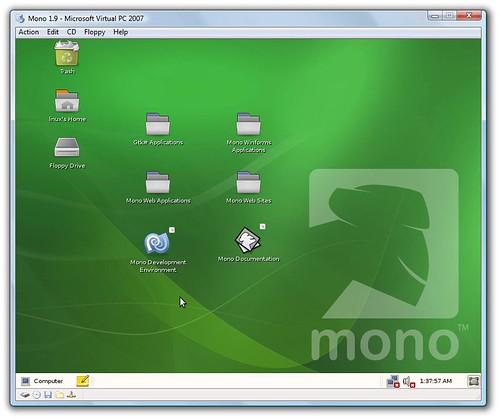 Mono 1.9 in VirtualPC | by jongalloway