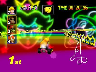 Mario Kart 64 18 A Famosa Pista Rainbow Road Conexaogamer