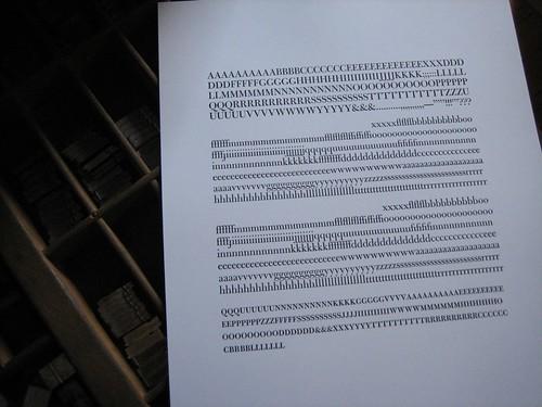 18pt ATF Bulmer | by interrobang letterpress