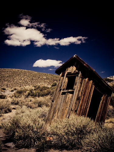 The Outhouses of Bodie: IV | by code poet