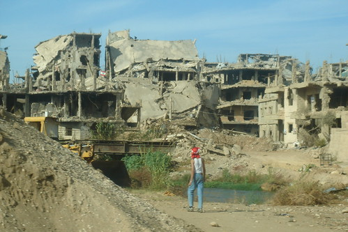 Destruction at Nahr el Bared. Lebanon | by Foreign and Commonwealth Office