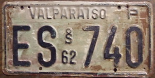 CHILE 1962 Valparaiso