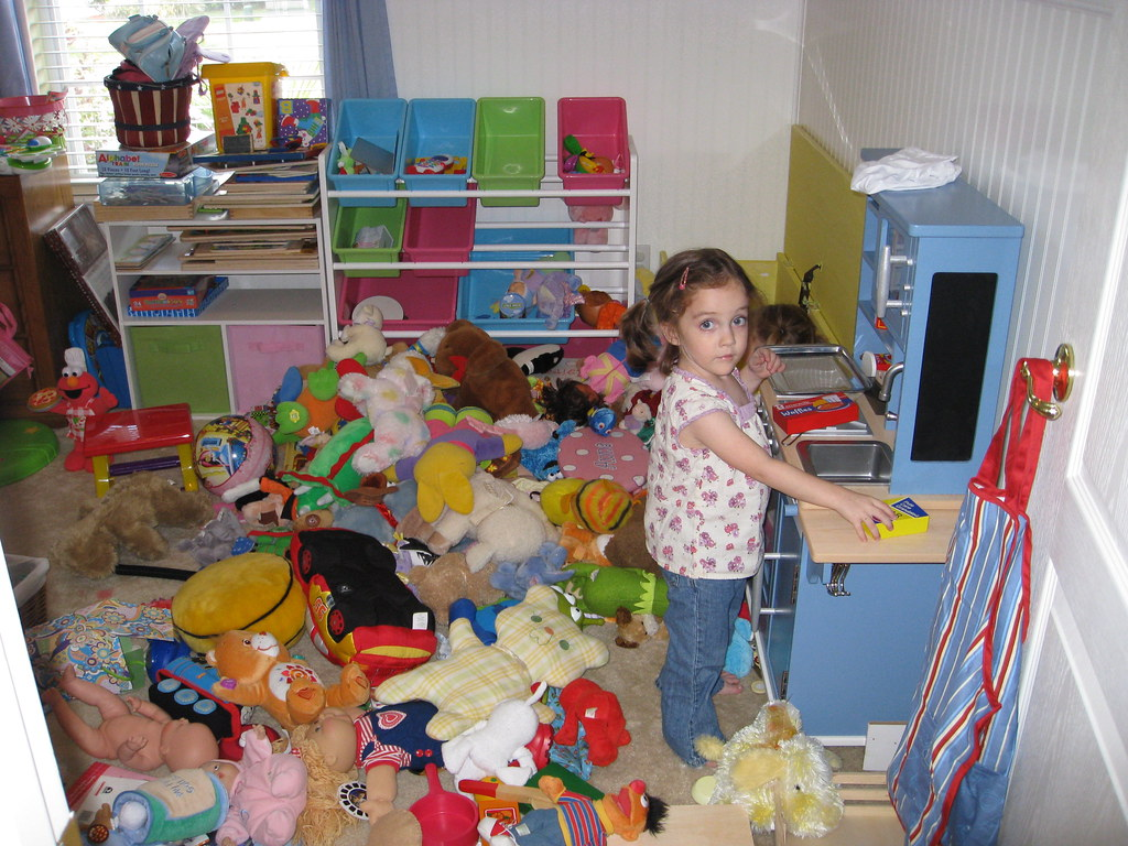 Messy Play Room