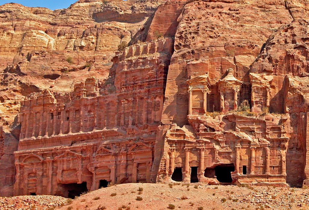 ruta de viaje por jordania - petra