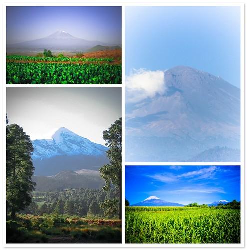 Volcanes - Puebla