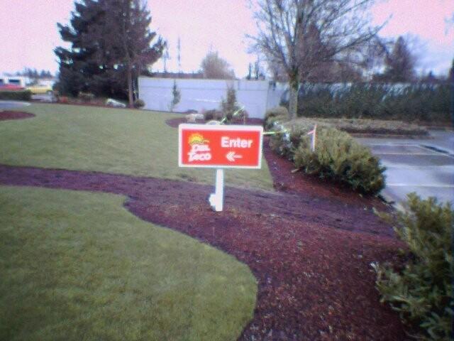 Enter sign but no entry