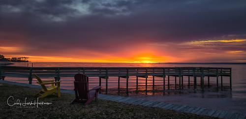 sunrise neuse river sun oriental onc northcarolina pier park pamlico