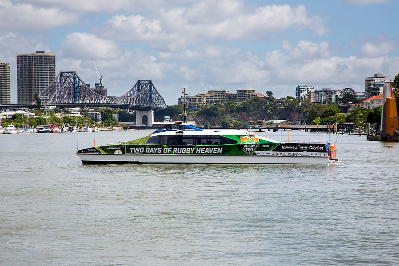 Brisbane Global Rugby Tens CityCat wrap