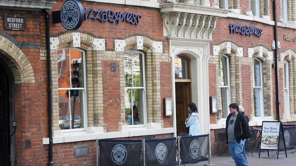 Belfast City Pizza Express On Bedford Street The Origina
