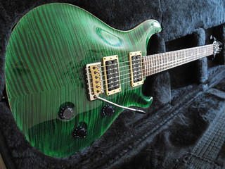 PRS Custom 24 Emerald Green